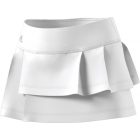 Adidas Women's Advantage Layered Tennis Skirt (White) - Tennis Apparel Brands