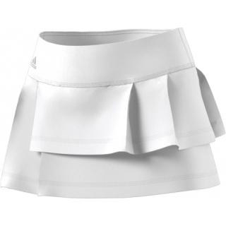 b64c4ebf28 Adidas Women's Advantage Layered Tennis Skirt (White) - Do It Tennis