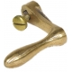 Brass Crank Handle with Brass Screw - Reels, Cranks & Handles