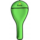 Bump Neoprene Racquet Cover (Neon Green) - Tennis Bag Brands