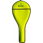 Bump Neoprene Racquet Cover (Neon Yellow) - Tennis Bag Brands