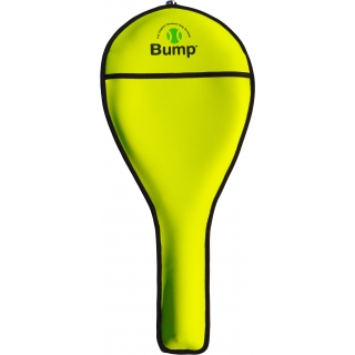 Bump Neoprene Racquet Cover (Neon Yellow)