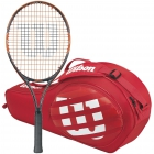 Wilson Burn Team Junior Racquet, Red Match 3-Pack - Wilson