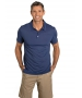 BloqUV Men's UPF 50+ Sun Protection Short Sleeve Polo Shirt (Navy) - Men's Tops