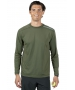 BloqUV Men's Long-Sleeve Sun Protective Jet Athletic Tee Shirt (Army Green) - Men's Tops