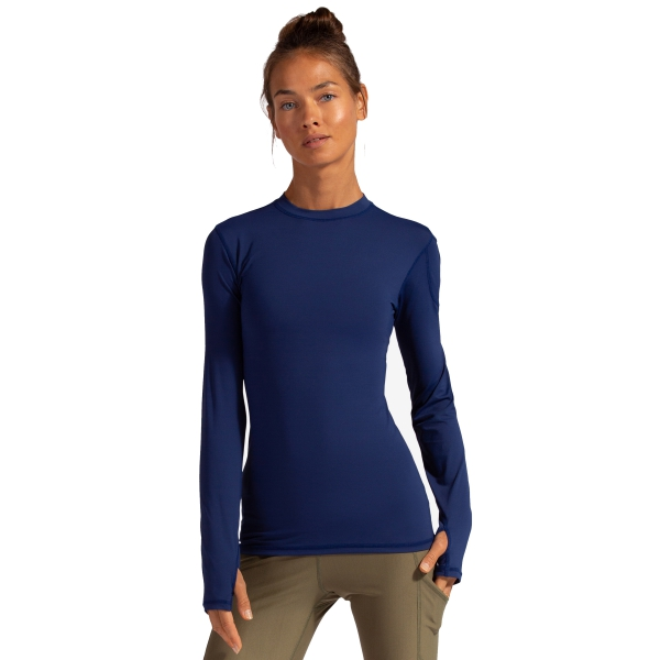 Bloq-UV Women's 24/7 Sun Protective Long Sleeve Top (Navy)