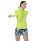 Bloq-UV 24/7 Long Sleeve Top (Key Lime) - Women's Outerwear