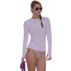Bloq-UV 24/7 Long Sleeve Top (Lavender) - Women's Outerwear