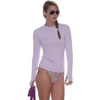 Bloq-UV 24/7 Long Sleeve Top (Lavender)