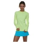 Bloq-UV 24/7 Long Sleeve Sun Protective Top (Neon Yellow) - Clearance Sale. Up to 75% off Premium Tennis Gear