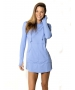 BloqUV Women's Sun Protective Long Sleeve Hoodie Dress (Lavender) - New Style Tennis Apparel