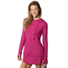 BloqUV Women's Sun Protective Hoodie Dress (Orchid) - Shop the Best Selection of Tennis Apparel