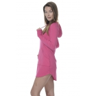 BloqUV Women's Sun Protective Hoodie Dress (Passion Pink) - Shop the Best Selection of Tennis Apparel