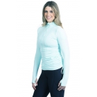 BloqUV Women's Adjustable Length Sun Protective Long Sleeve Coverup (Mint) - Women's Tennis Apparel