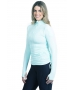 BloqUV Women's Adjustable Length Sun Protective Long Sleeve Coverup (Mint) - New Style Tennis Apparel