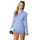 BloqUV Women's Sun Protective Cover Up Dress (Indigo) - Shop the Best Selection of Tennis Apparel