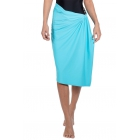 BloqUV UPF 50+ Sun Protective Blanket Wrap (Light Turquoise) - Shop the Best Selection of Tennis Apparel