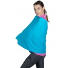 BloqUV UPF 50+ Sun Protective Blanket Wrap (Turquoise) - Shop the Best Selection of Tennis Apparel