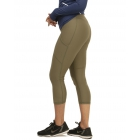 Bloq-UV Compression Capri Tights with Pockets (Army Green) - Bloq-UV Women's Skirts & Skorts