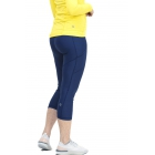 Bloq-UV Compression Capri Tights with Pockets (Navy) - Bloq-UV Women's Skirts & Skorts