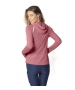 BloqUV Women's Sun Protective Full Zip Athletic Hoodie (Dusty Rose) - Women's Warm-Ups