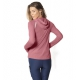 BloqUV Women's Sun Protective Full Zip Athletic Hoodie (Dusty Rose) - Women's Long-Sleeve Shirts