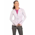 BloqUV Women's Sun Protective Full Zip Athletic Hoodie (Lavender) - Women's Warm-Ups