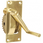 Edwards Brass Winder Unit for Square Post - Reels, Cranks & Handles