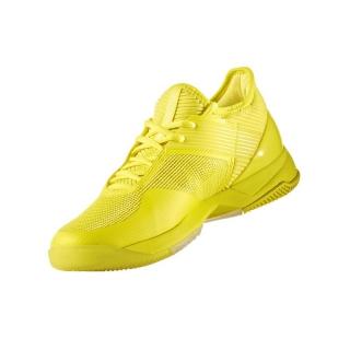 new styles dafcb d908d Adidas Womens Adizero Ubersonic 3.0 Tennis Shoes (YellowBlack)