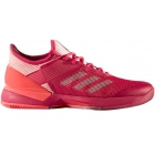Adidas Women's Adizero Ubersonic 3.0 Tennis Shoes (Pink/Coral) - MAP Products