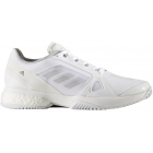 Adidas Women's Stella McCartney Barricade Boost Tennis Shoe (White/Light Solid Grey/Night Steel) -