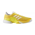Adidas Men's Barricade 2017 Boost Tennis Shoes (Equestrian Yellow/White) - Tennis Shoe Brands
