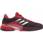 Adidas Men's Barricade 2017 Tennis Shoe (Dark Burgundy/Matte Silver/Scarlet) - Men's Tennis Shoes