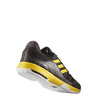 Mens Adidas Barricade Court Tennis Shoes Black And Black And