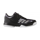 Adidas Junior Ligra 5 Tennis Shoe (Core Black/Silver/White) - Tennis Shoe Brands