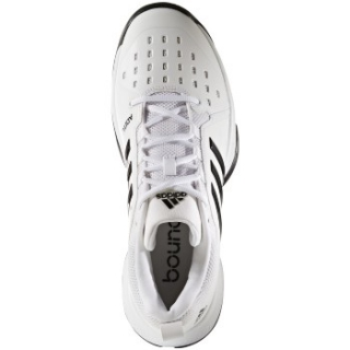 f29794abc52013 Adidas Men s Barricade Classic Bounce Tennis Shoes (White Black ...