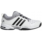Adidas Men's Barricade Classic Bounce Wide (4E) Tennis Shoes (White/Black - Adidas Barricade Classic Tennis Shoes