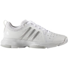 Adidas Women's Barricade Classic Bounce Tennis Shoes (White/Silver/Grey) - Adidas Barricade Tennis Shoes