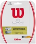 Wilson Duo Control Hybrid NXT Control & Luxilon 4g Rough 16g Tennis String Set - Hybrid and 1/2 Sets Tennis String