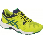 Asics Gel Resolution 6 Junior Tennis Shoes (Lime/Pine/Indigo) - Performance Tennis Shoes