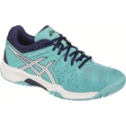 Asics Gel Resolution 6 Junior Tennis Shoes (Blue/White/Indigo) - Performance Tennis Shoes