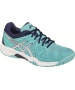 Asics Gel Resolution 6 Junior Tennis Shoes (Blue/White/Indigo) - Tennis Shoes for Kids