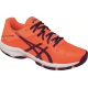 Asics Gel Solution Speed 3 Junior Tennis Shoes (Coral/Plum/Coral) - Asics