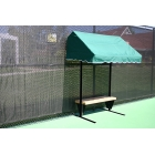 SunTrends Cabana Bench 6' Modified - Shop the Best Selection of Tennis Court & Cabana Benches