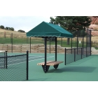 SunTrends Cabana Bench Table 8' - Suntrends Tennis Equipment