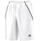 Adidas Men'sTennis Sequentials Bermuda Shorts (White) - Men's Shorts Tennis Apparel