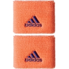 Adidas Women's Small Tennis Wristbands (Orange/ Purple) - Tennis Accessories