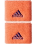 Adidas Women's Small Tennis Wristbands (Orange/ Purple) - Adidas Women's Apparel Tennis Apparel