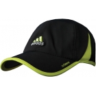 Adidas Men's adiZero Cap (Black/ Lime) - Adidas