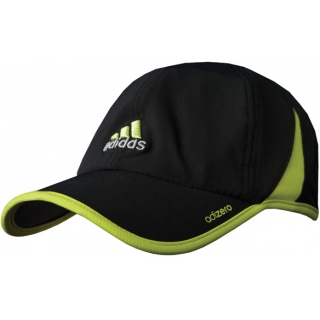 c010a269001 Adidas Men s adiZero Cap (Black  Lime) - Do It Tennis